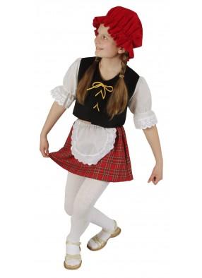 Костюм красной шапочки для школьницы