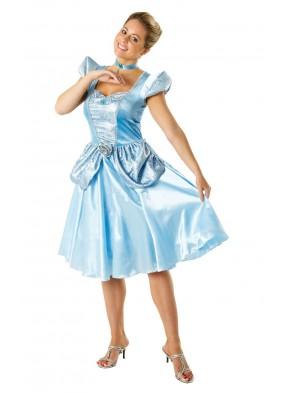 Атласное платье милой Золушки фото