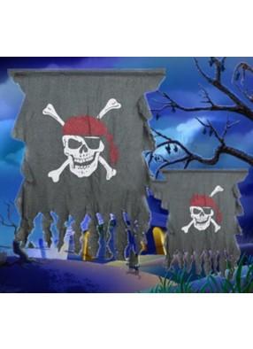 Баннер Пират с костями