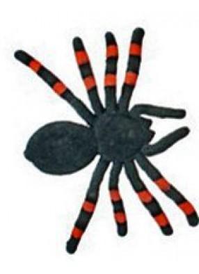 Бархатный тарантул черно-оранжевый