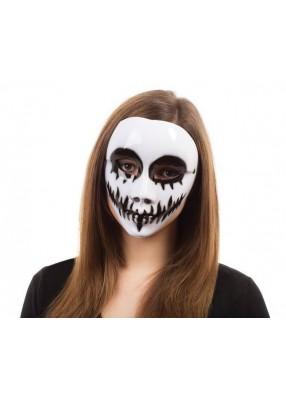 Белая маска на хэллоуин