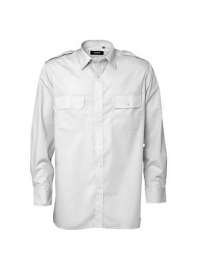 Белая рубашка пилота фото