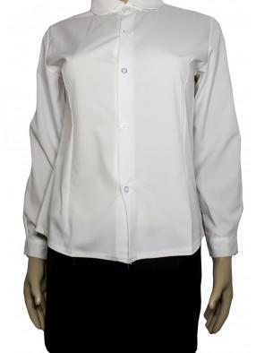Белая рубашка стюардессы фото