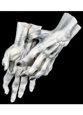 Белые руки скелетона