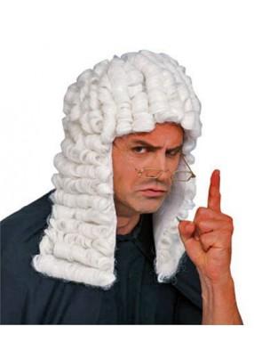 Белый парик судьи