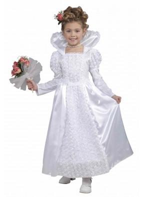 Белое платье принцессы-невесты