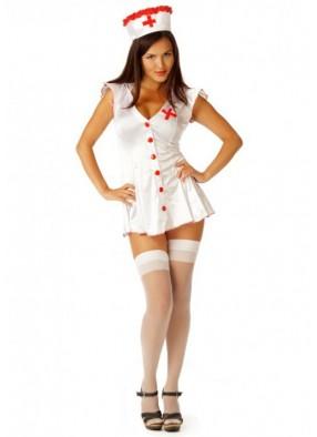 Белоснежный костюм медсестры