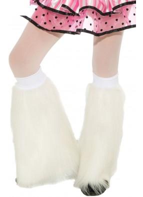 Белые детские гетры
