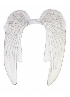 Белые крылья Ангела с отделкой