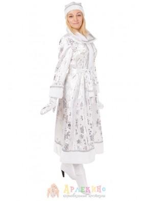 Белый костюм Снегурочки