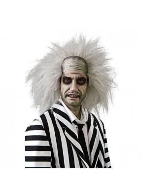 Белый парик сумасшедшего заключенного