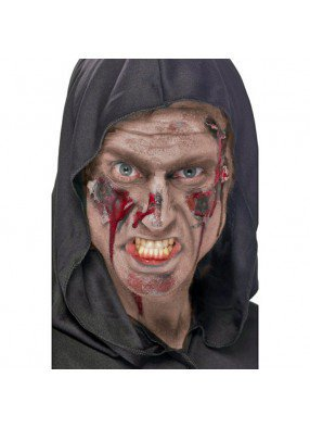 Бежевый грим для зомби
