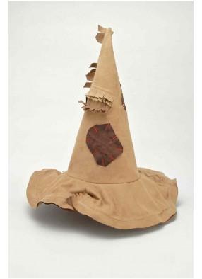 Бежевый ведьминский колпак в заплатках