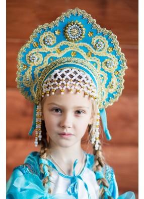 Бирюзовый кокошник Царевны