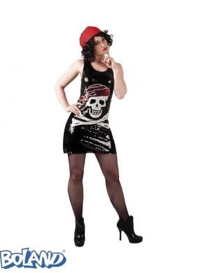 Блестящее платье пиратки