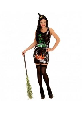 Блестящее платье ведьмы