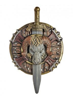 Боевые меч и щит