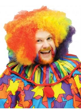 Большой парик клоуна