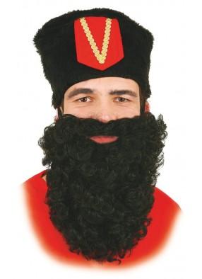 Борода черная 28 см