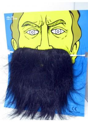 Борода черная для карнавала