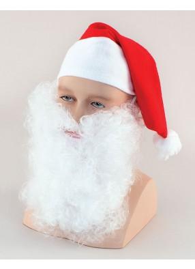 Борода Деда Мороза 18 см