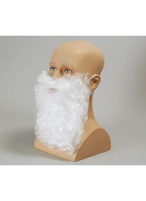 Борода деда Мороза 28 см