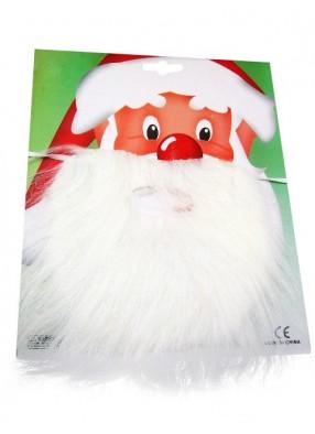 Борода Деда Мороза прямая