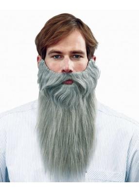 Борода длинная полуседая
