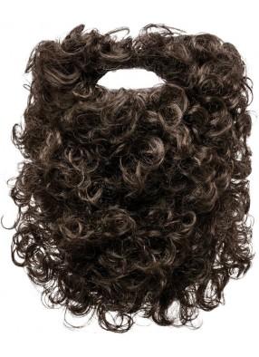 Борода коричневая 28 см
