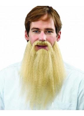 Борода русая прямая с усами