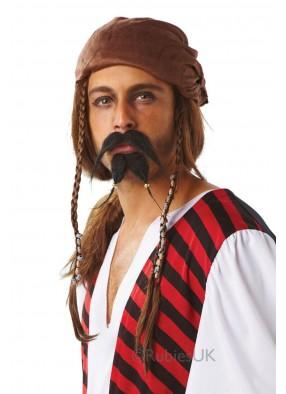 Бородка и усы пирата STD (48-50) Rub