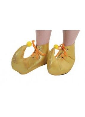 Ботинки для Шута с помпонами