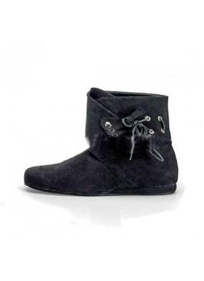 Ботинки эпохи Ренессанса черные