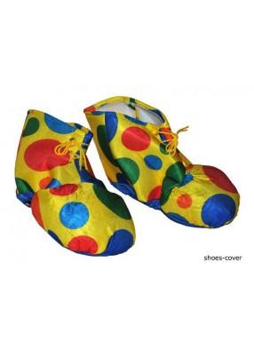Ботинки клоуна мягкие