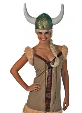Бронзовый шлем викинга