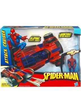 Человек-паук машинка и фигурка