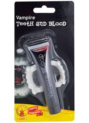 Челюсть и кровь вампира фото