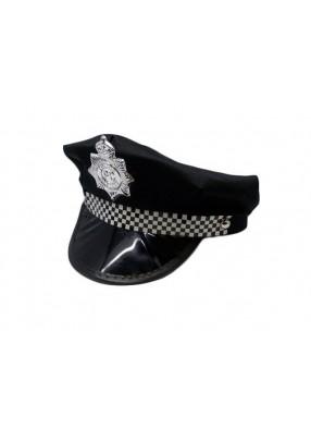 Черная фуражка полицейского с западного побережья