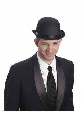 Черная шляпа Котелок