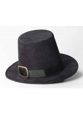 Черная шляпа пилигрима фото