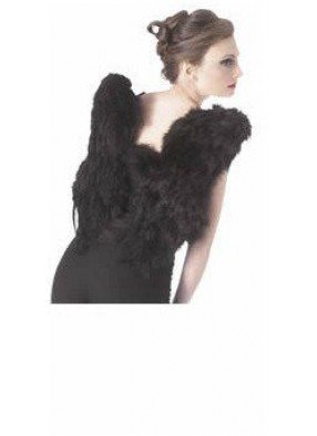 Черные крылья ангела Deluxe