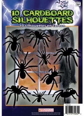 Черные пауки на Хэллоуин