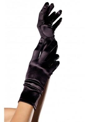 Черные перчатки для костюмов фото