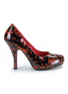 Черные туфли в крови фото