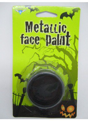 Черный грим на Хэллоуин