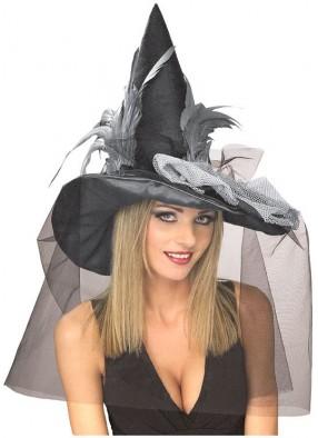 Черный колпак гламурной ведьмы