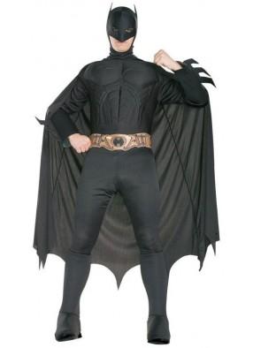 Черный костюм мускулистого Бэтмена