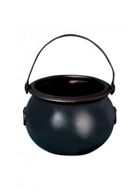 Черный котелок ведьмы 20 см фото
