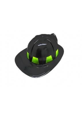 Черный шлем пожарного