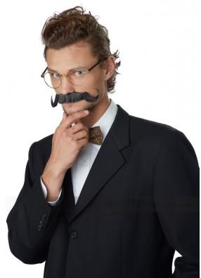Черный усы профессора